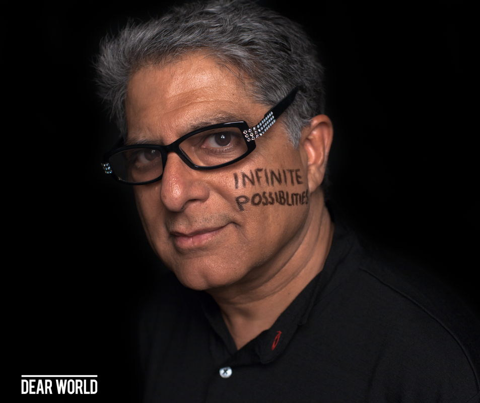 "People: Deepak Chopra- Lecture On ""The Future Of Well-Being"""