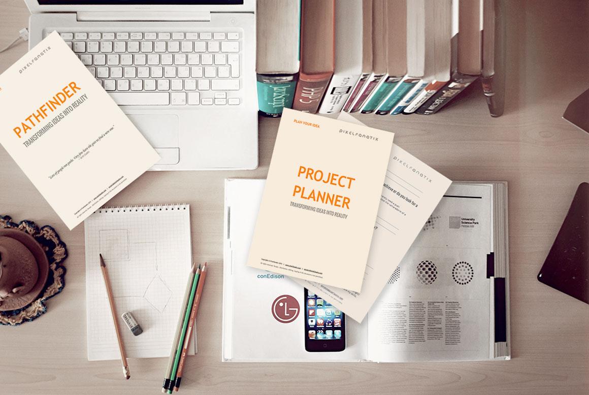 project planner pixelfanatix website design marketing
